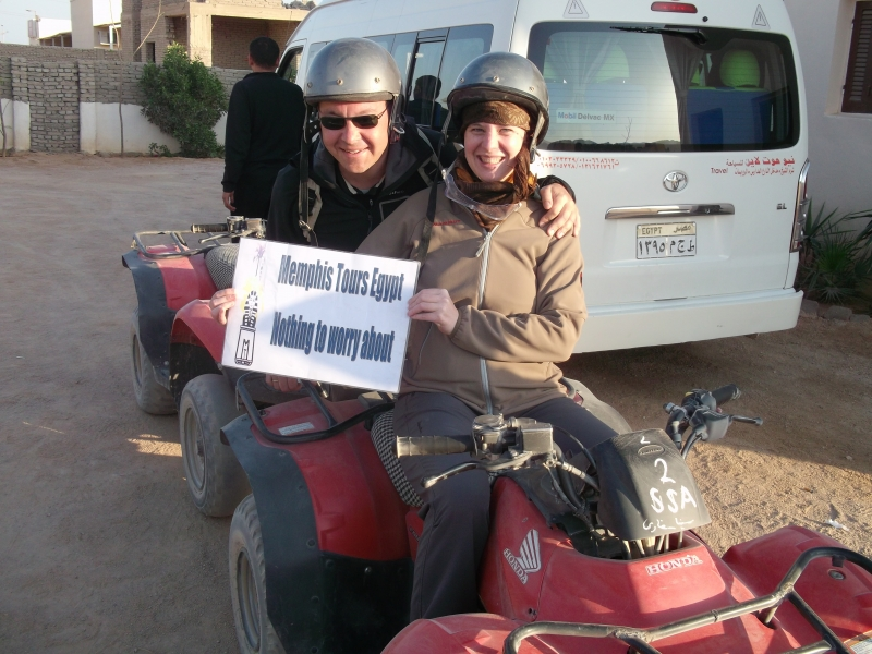 Desert Safari Tour and quad biking with Memphis